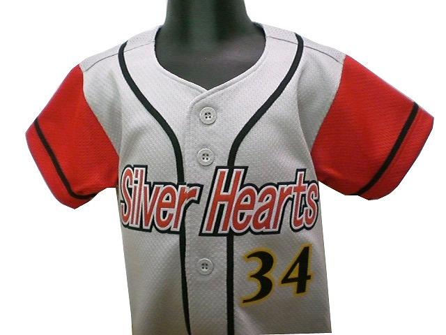 Silver Hearts 様(1歳からのユニフォーム)