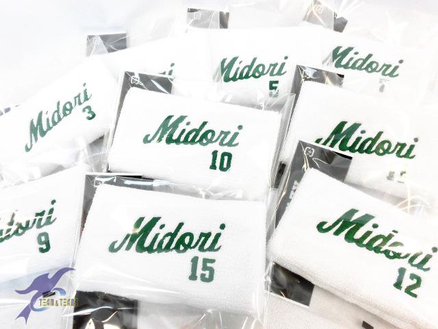 Midori様(リストバンド)