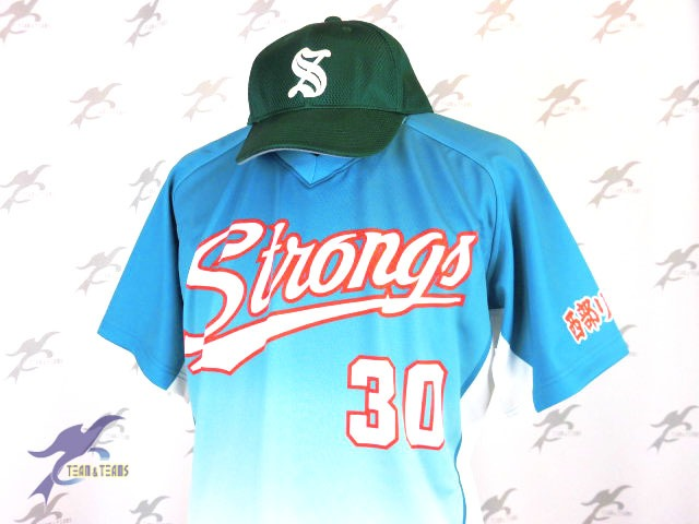 STRONGS様(昇華Vシャツ)